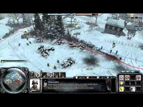 Company of Heroes 2: The Western Front Armies: Oberkommando West GAMEPLAY  