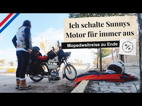 Letzter Ride out meiner Mofa-Weltreise | schweren Herzens abgebrochen