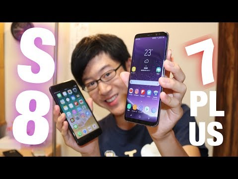 【比較】GalaxyS8とiPhone7Plus、どっちを買うべきか!使ってみて分かった事等含めて話します。 VLOG_003