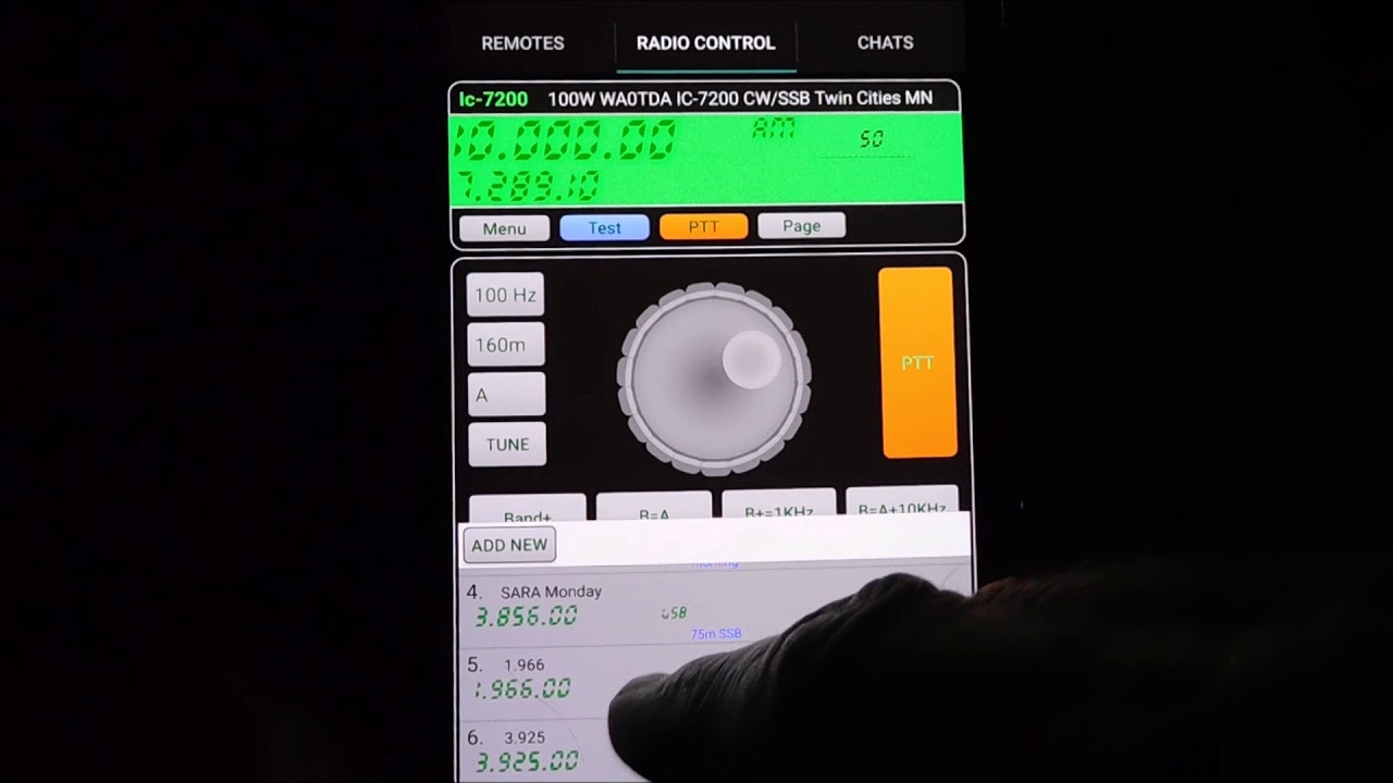 Ham radio with your smartphone! RCForb Android App Explained