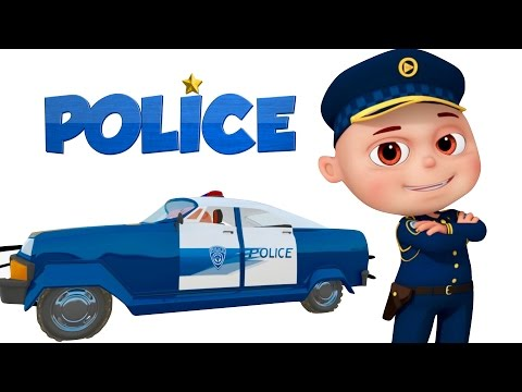 Thumbnail: Zool Babies As Police | Police Chase Thief | Zool Babies Cartoon Animation