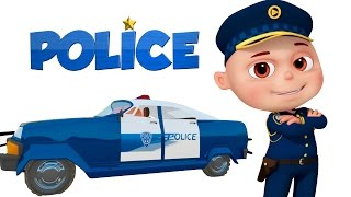 Zool Babies As Police | Police Chase Thief | Zool Babies Cartoon Animation