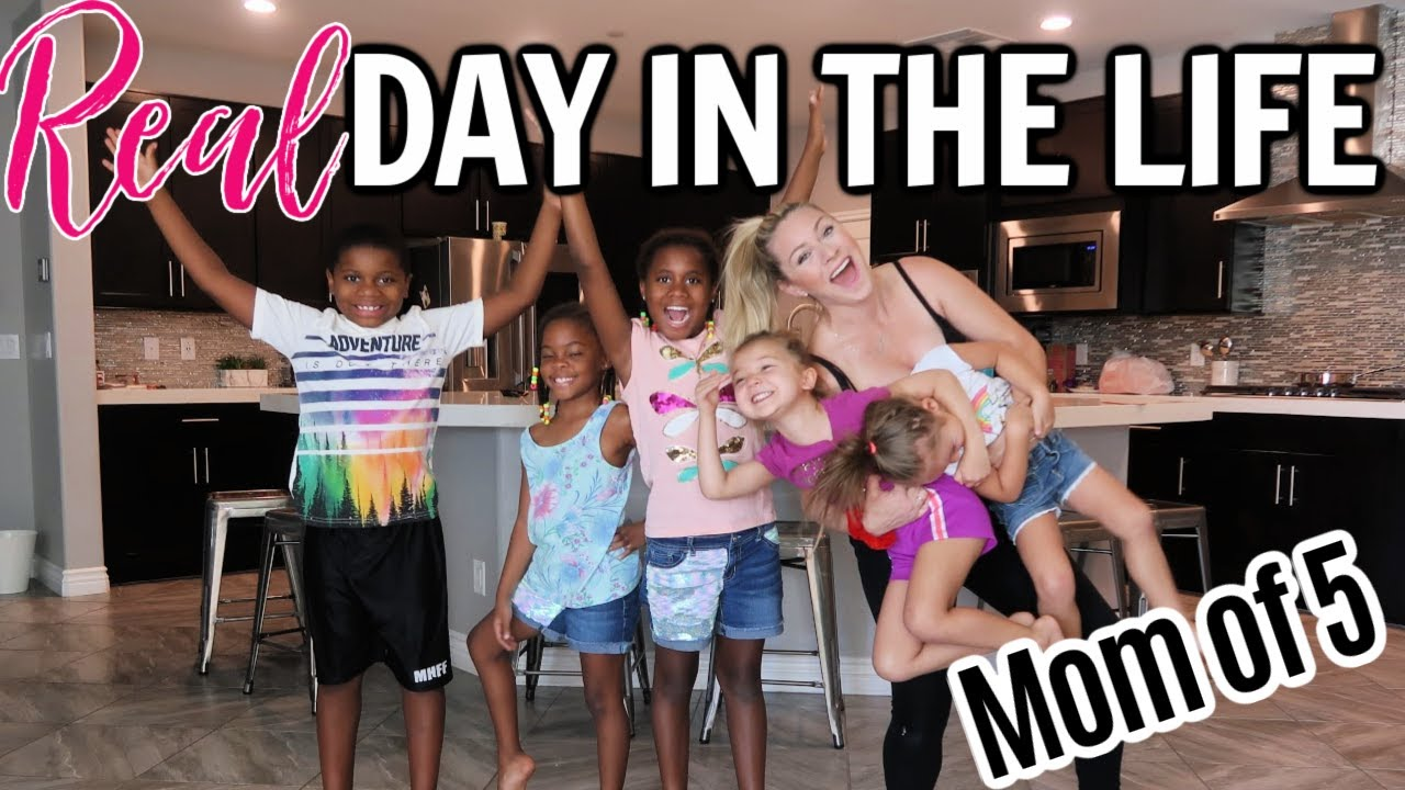 SOLO MOM DAY IN THE LIFE 2020 // STAY AT HOME MOM SUMMER ROUTINE - CHRISTY GIOR
