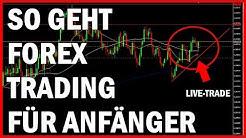 So geht FOREX TRADING für Anfänger | Live Trade Analyse | Chancen | Deutsch