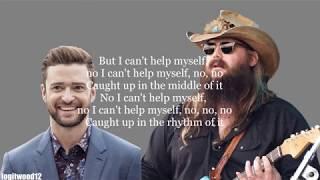Justin Timberlake, Chris Stapleton - Say Something [w/ LYRICS]