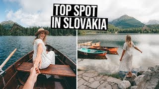 This is the Top Thing you Need to do in Slovakia   Tatras Mountains are INSANE!