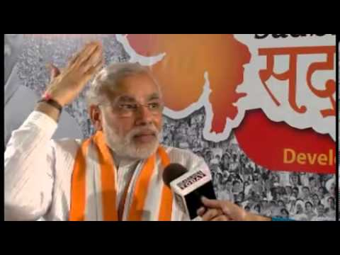 Narendra Modi's Thoughts on Wiki Leaks expose