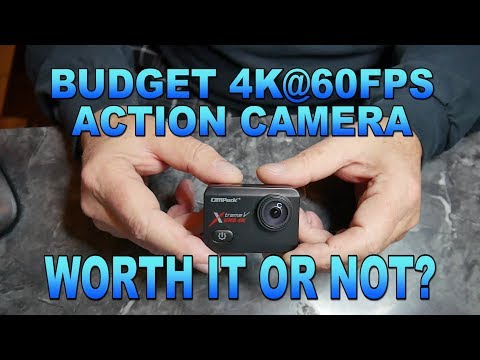 Campark X30 4K@60fps action camera review