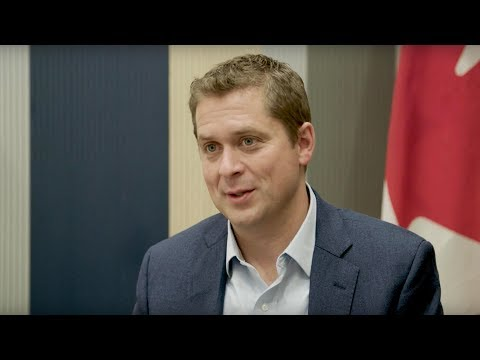 Seven questions with Andrew Scheer at the Conservative Convention
