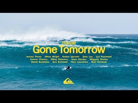 GONE TOMORROW    HAWAII