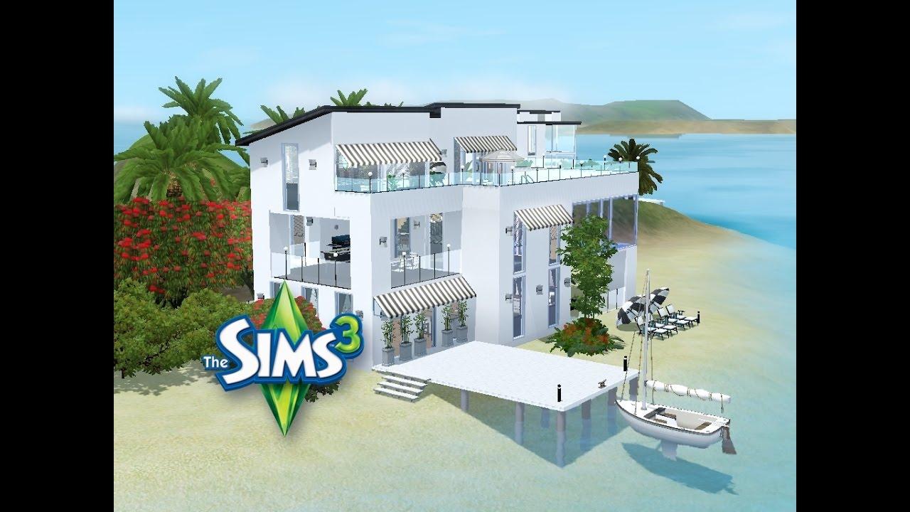 Sims 3 - Haus bauen - Let\'s build - Neue Nachbarn auf Niemand Island ...