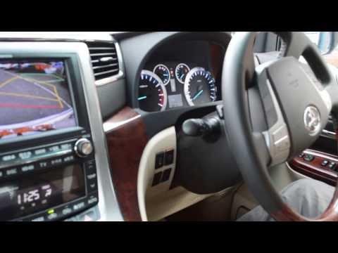Toyota Alphard Intelligent Parking Assist (IPA) - reverse parking