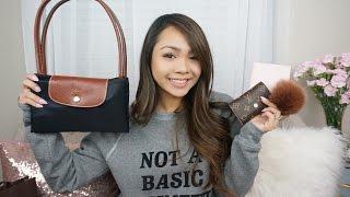 Handbag + Accessories Haul | Louis Vuitton, Kate Spade, Furla, Longchamp | Charmaine Dulak