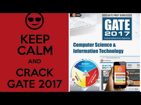 Best book for GATE 2017 (CSE & IT) from G.K. Publications