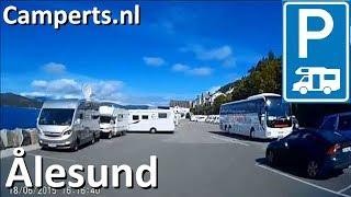 Hjelsetgården Bobilparkering, Ålesund, Møre og Romsdal, Noorwegen (English subtitled)