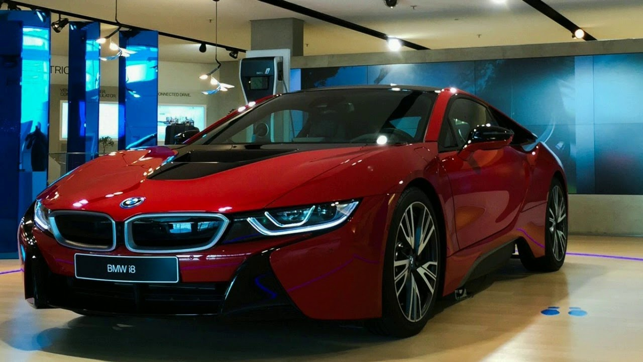 THE BEST!! 2018 BMW I8 INTERIOR