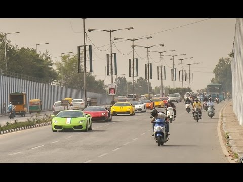 Lamborghini Brunch Drive Bangalore 2016 : Part 2