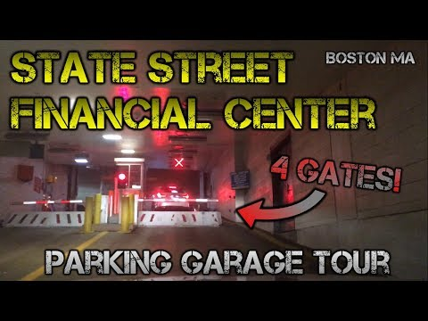 Parking in the (Super High Security) State Street Financial Center Garage - Boston  MA