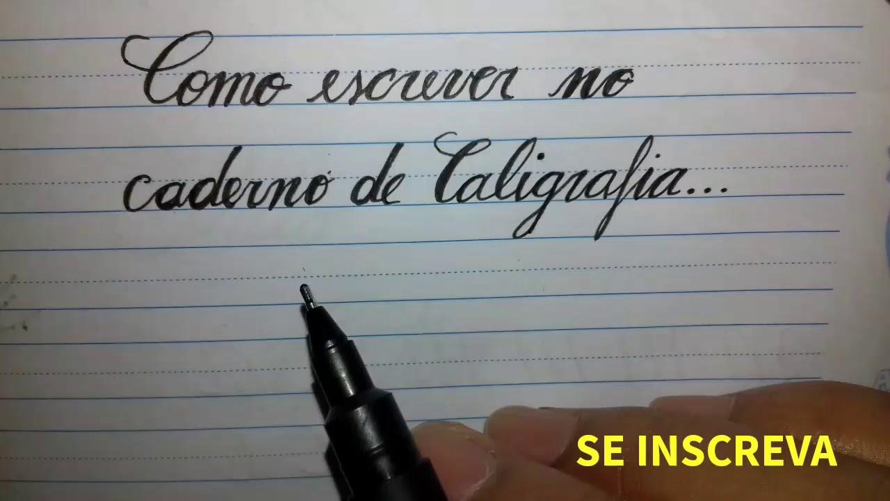 DE INGLESA CURSO BAIXAR CALIGRAFIA