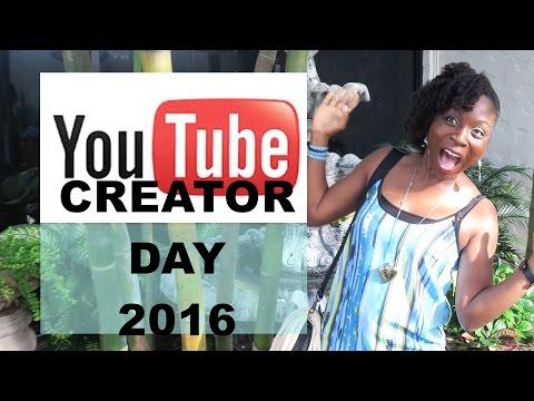 Youtube Creator Day in Houston, Texas | July 2nd 2016 | DNVlogsLife