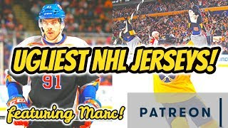 Patreon Live-Stream: Least Favourite NHL Jerseys? (feat. Marc!)   Auddie James