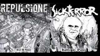"""sick terror repulsione-split ep""""7""""(2006)"""