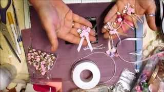 Ribbon Cluster Embellishments Tutorial - jennings644(http://www.jenningscraftsboutique.com These are too easy to make and they look just as good if not better than the bought ones, that is unless you buy them from ..., 2015-05-29T11:09:03.000Z)