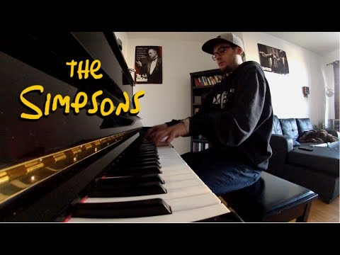 The Simpson Piano Cover