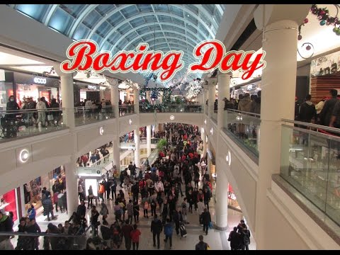 Boxing Day Canadá - Shopping Metrotown Burnaby