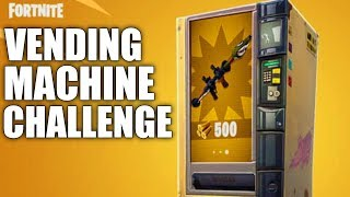 Fortnite - Vending Machine CHALLENGE!