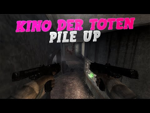 Black Ops 1 Zombie Glitches: Best Jump-In Zombie Pile Up Spot On KINO DER TOTEN | BO1 Zombie Glitch