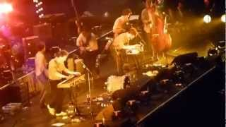 Mumford & Sons - Awake My Soul ft PIFF the magic dragon LG Arena Birmingham pt 1