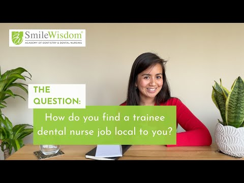 How to find a trainee dental nurse job local to you - Josh from SmileWisdom Academy