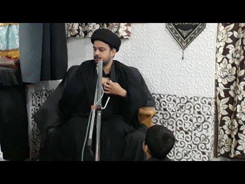 Maulana Jawwad Askari Sb | 5th Majlise Ashra-E-Majlise Azakhnae Late Ali Shabbar Sb | Barabanki
