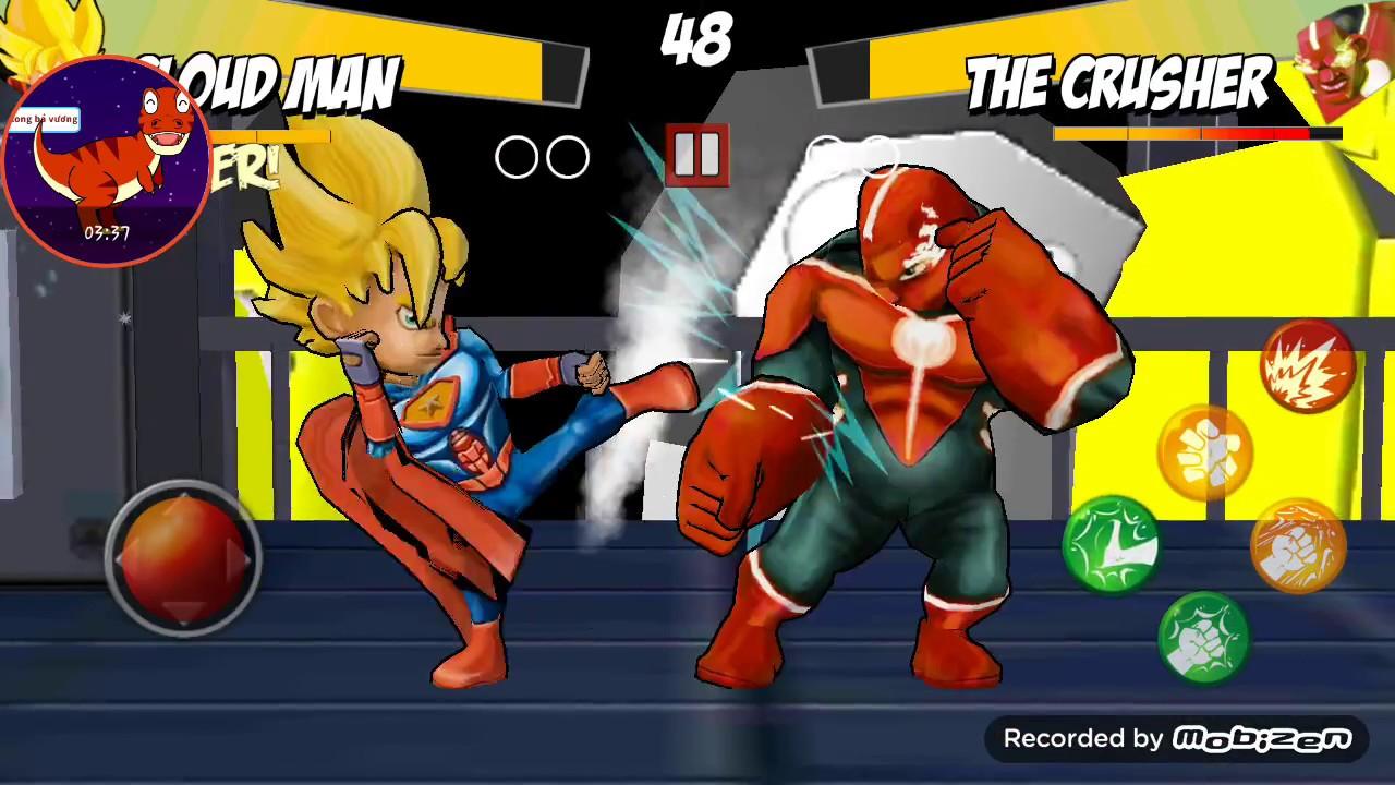 (Game Hay) supermen  2 nguoi nhen danh nhau sieu nhan tre em
