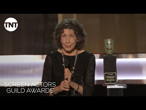Lily Tomlin Wins Lifetime Achievement Award  23rd Annual SAG Awards  TNT