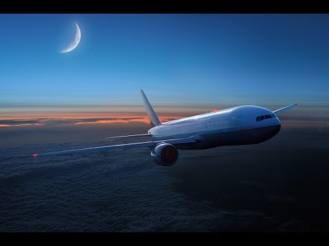 ASMR - Airplane In The Sky (White Noise, Ambient Sound)