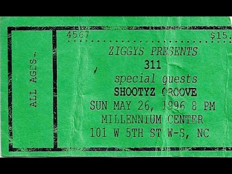 311 Live @ Ziggy's 5-26-1996 *FULL SHOW* - Millennium Center - Winston Salem