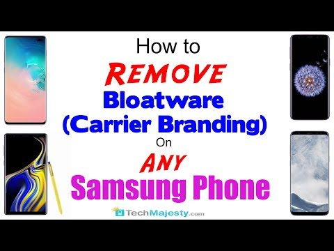 How To Remove/Delete All OEM Bloatware/Carrier Branding On Any Samsung Phone Without Root