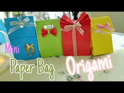 #DIY origami | #paper bag unik  #cara membuat dari #kertas Origami #diy #part 1