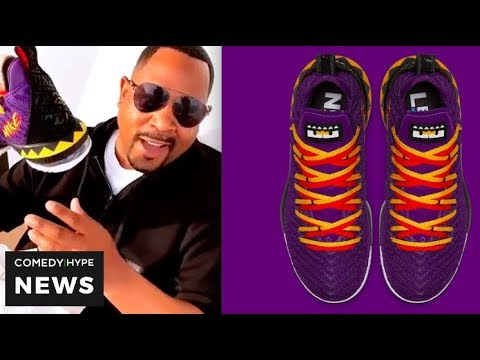 Martin' Lawrence Shows Off His LeBron