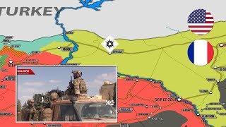 5 июня 2018. Военная обстановка в Сирии. Взрыв возле базы США и Франции на севере Сирии.