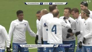 Traustasons 1-0 mål mot Östersund