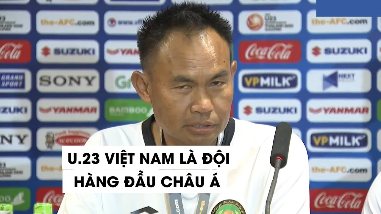 HLV Brunei tấm tắc khen U.23 Việt Nam là đội bóng hàng đầu châu Á