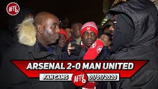 Arsenal 2-0 Man United | Pepe's Goal & Work Rate Was Fantastic (Kenny Ken & Belgium)
