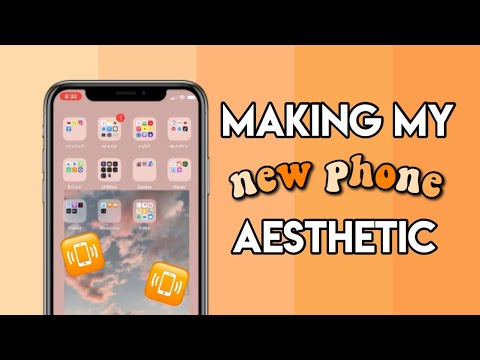 Making My New IPhone 11 Aesthetic!