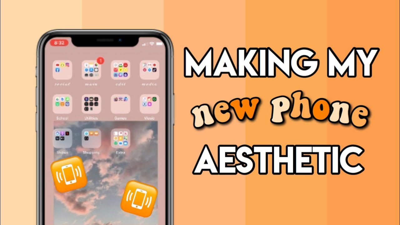 Making My New Iphone 11 Aesthetic Youtube