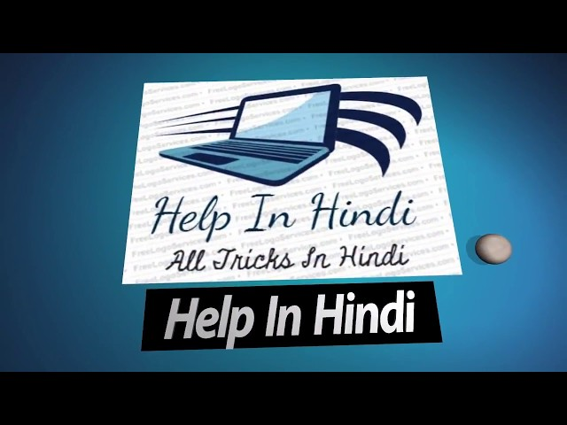 Introduction Our Channel Help In Hindi