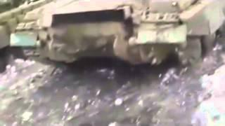 Война на Украине Бои в Углегорске DNR wrecked tanks under Uglegorsky Ukraine War