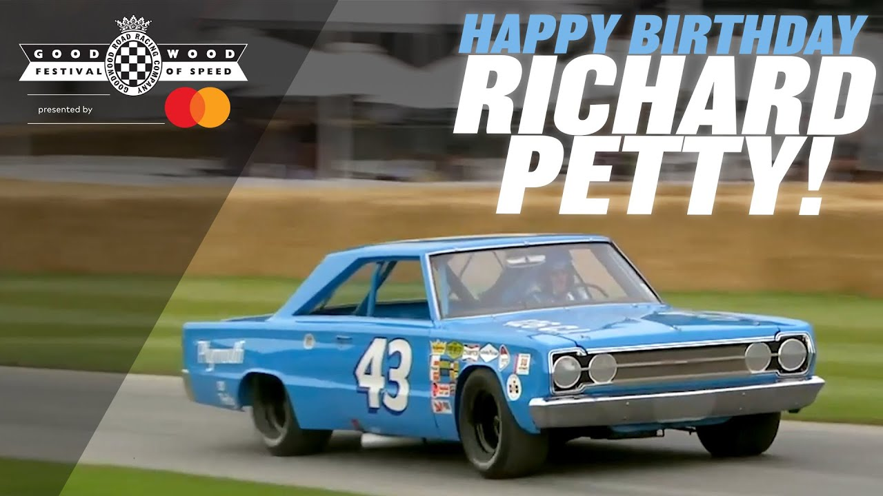 Richard Petty's legendary 7.0-litre V8 Plymouth Belvedere at Goodwood